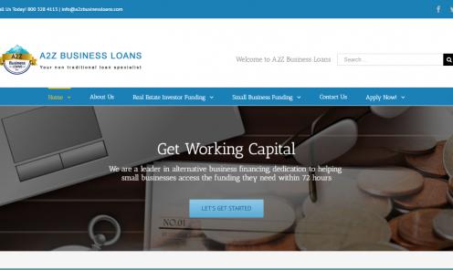 www.a2zbusinessloans.com